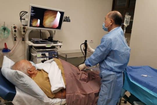 prosedur sistoskopi pada pasien